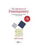 The Mysteries of Masonry (Puzzle Book)
