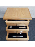 Set of Working Tools fitted in 3 drawers   box