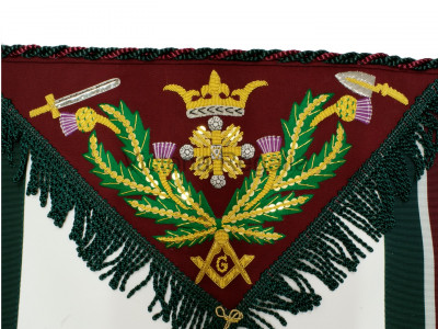 Royal Order of Scotland Provincial Grand Master Apron
