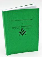 Scottish Masonic Standard Ritual book for Craft and Mark Ceremony