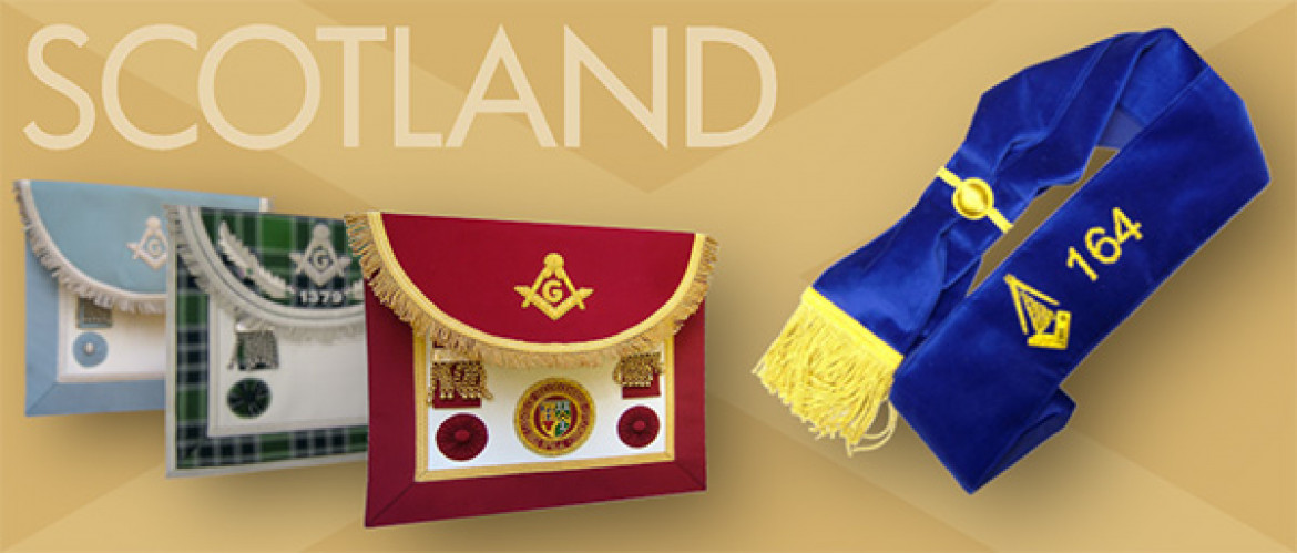 Scottish Masonic Regalia