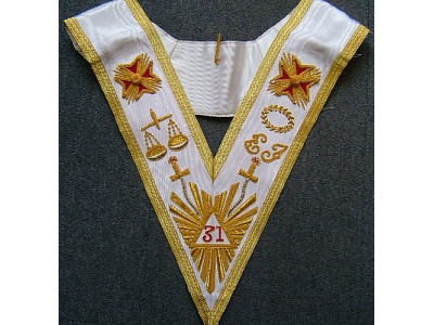 31st Degree Collar