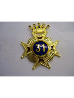 31o Star Collar jewel