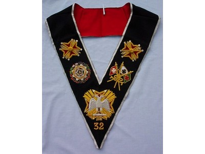 English Constitution 32nd Degree Collar