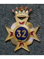 32nd Degree Star jewel