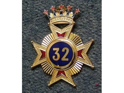 32nd Degree Star jewel