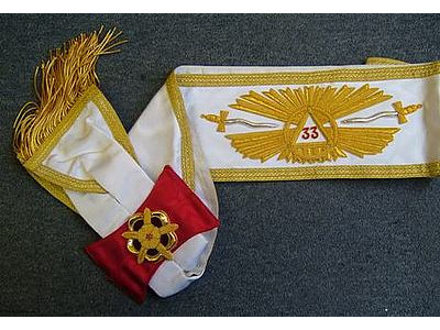 33rd Degree sash