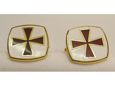 Knights Templar Cufflinks EC