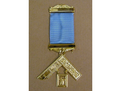 Past Master Breast Jewel - Metal Gilt