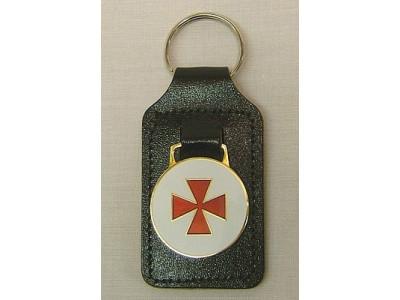 knights Templar Masonic Keyring