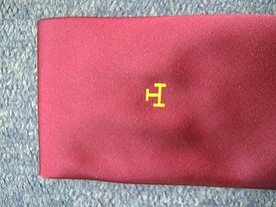 RAC Single Motif Crimson Tie