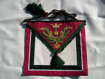 Royal Order of Scotland Deputy Grand Master's Apron
