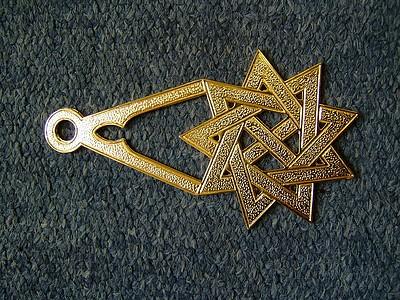 Royal Order of Scotland Green Cordon Jewel