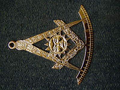 Craft Right Worshipful Master Collar jewel