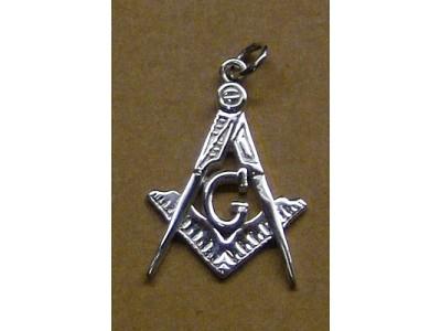 Silver large pendant
