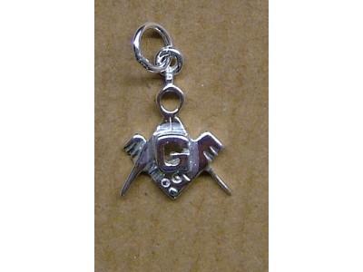 Silver pendant small