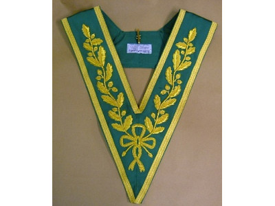 Allied Degree Grand Council Full Dress Collar - English Constitution