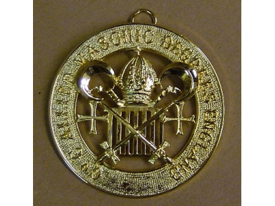 Allied Degree Grand Council Collar Jewel - English Constitution