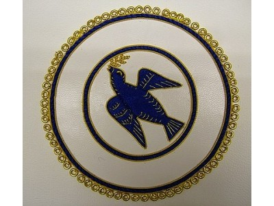 Hand Embroiders Apron Badge - Center Symbol only - English Constitution