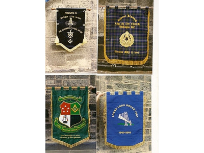 Freemasons Masonic Lodge - Chapter Banners