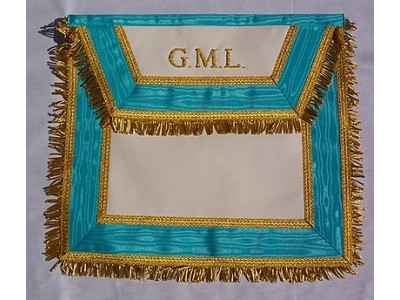Grand Master's Lodge Apron
