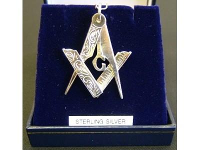 Silver folding Pendant
