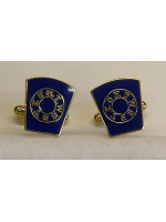 Mark Cufflinks - Blue