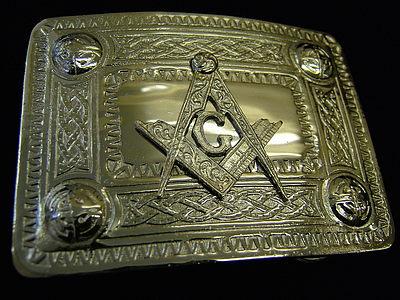 Masonic Belt Buckle