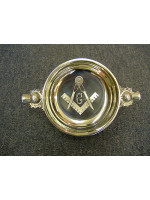 Freemasons Masonic Quaich with Engraved Square Compass & G - Thistle handles with option to Engrave