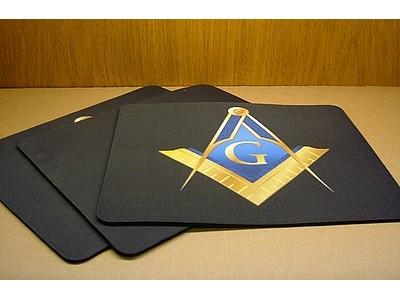 Masonic Mouse Mat