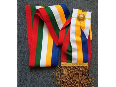 Order of the Eastern Star Officers sash