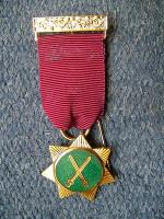 Red Cross Knights Members Breast Jewel