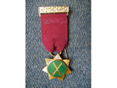 Red Cross Knights Members Breast Jewel
