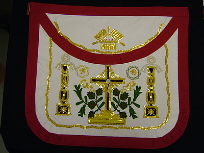 18th Degree Most Wise Sovereign Apron MWS - SCOTTISH
