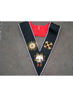 32nd Degree Collar Fully hand embroidered - SCOTTISH
