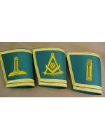 Craft Gauntlets - Emblems only - SCOTTISH MASON
