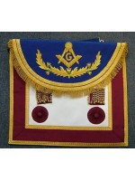 Master  Masons Apron Style No .5 - SCOTTISH MASON