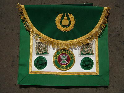 Past District or Provincial Grand Lodge Apron  - SCOTTISH