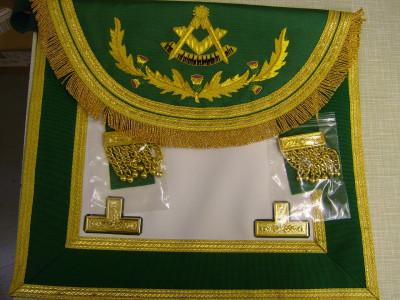 Past Masters Dress Apron Style No.5 - SCOTTISH MASON