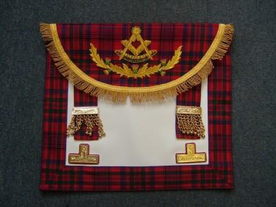 Past Masters Dress Aapron Style No.1 - SCOTTISH MASON