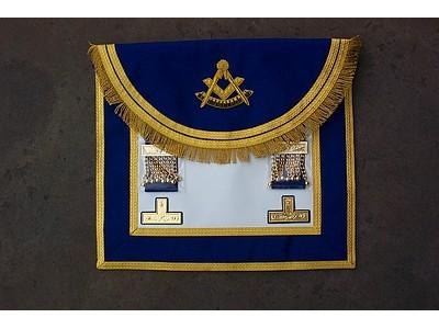 Past Masters Dress Aapron Style No.4 - SCOTTISH MASON