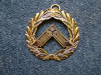 Past Provincial & District Collar Jewel  - SCOTTISH