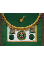 Provincial & District Apron - Acting rank  - SCOTTISH MASON