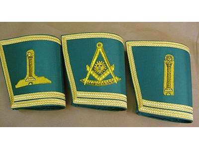 Provincial & District Gauntlets - Emblem only - SCOTTISH MASON