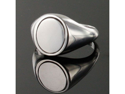 Masonic Ring Black Reversible Square and Compass with G - Solid Silver