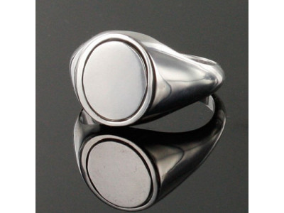 Masonic Ring Black Reversible Square and Compass Solid Silver