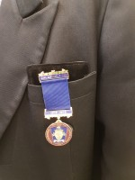 Breast Pocket Jewel Pad for Freemasons Masonic Jewels