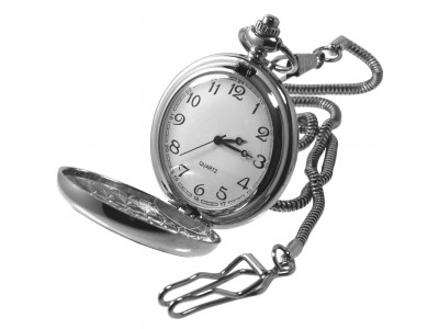 Freemasons Masonic Pocket Watch in Pewter