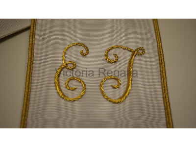 31th Degree Collar Fully hand embroidered - SCOTTISH