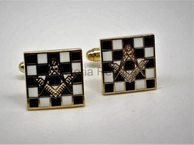 Carpet S&C  Cufflinks-Masonic-Freemasons
